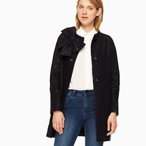 Kate Spade Black Dorothy Coat
